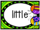 Write the Room: Sight Words-Bug Themed