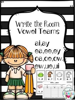 Write the Room - Sorting Vowel Teams