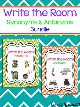 Write the Room - Synonym & Antonym Bundle