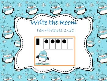 Write the Room Ten Frames