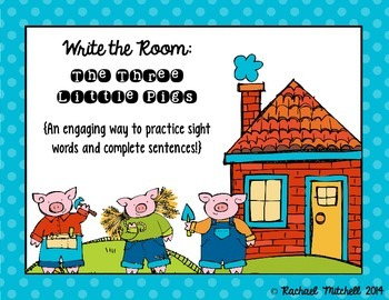 Write the Room: The Three Little Pigs