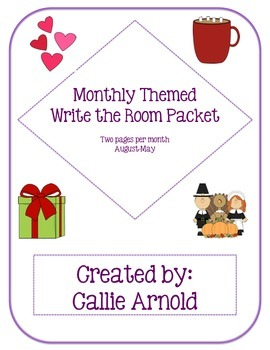Write the Room: Themed by Month