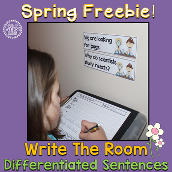 Write the Room Spring Freebie!!