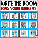 Write the Room With Long Vowels BUNDLE #2