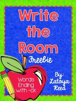 Write the Room Words ending in -ck