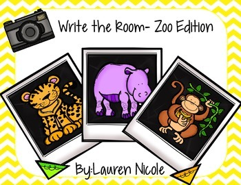 Write the Room- Zoo Edition