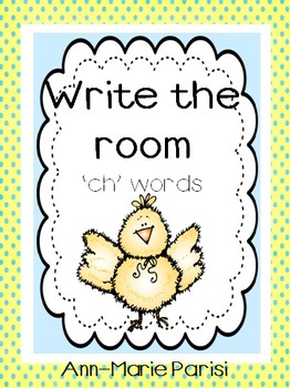 Write the Room 'ch' Words
