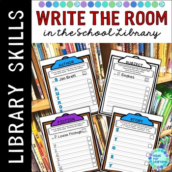 Write the Room in the School Library Media Center