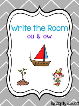 Write the Room - ou & ow