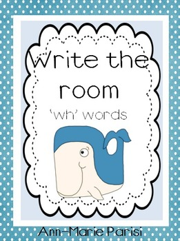 Write the Room 'wh' Words