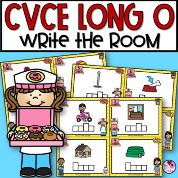 Write the Room with Long O CVCe Words