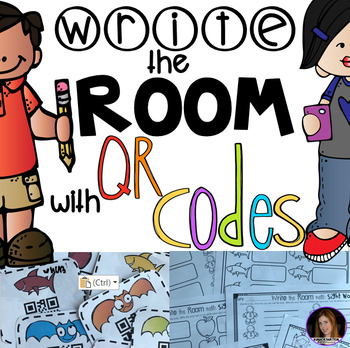 Write the Room with QR Codes (Secret Pre-Primmer Sight Words)