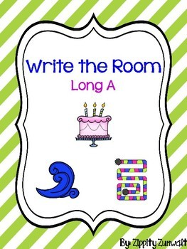 Write the room - Long a CVCe