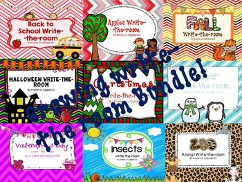 Write-the-room growing bundle for the year!