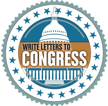 Write to Congress! High School Activity