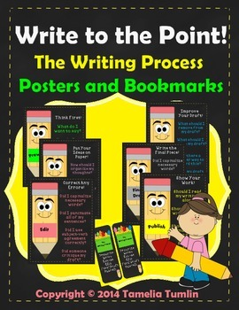 Write to the Point! The Writing Process Posters and Bookma