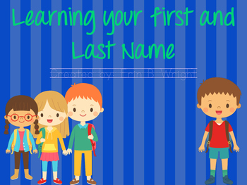 Write your first and last name!