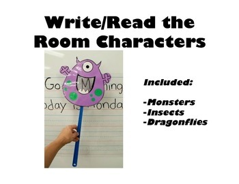 Write/Read the Room Characters or Pointers for Centres or