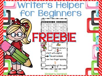 Writer's Helper for Beginners