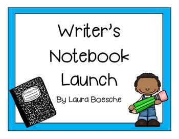 Writer's Notebook Launch