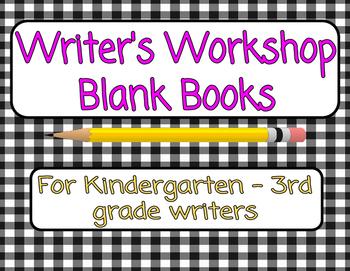 Writer's Workshop Books ~ K-3