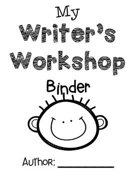 Writer's Workshop Boy Binder Cover