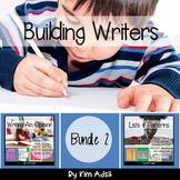 Writer's Workshop: Building Writers Bundle 2 by Kim Adsit
