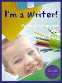First - Third Grade ELA Homework: WITH PARENT TIPS – EDITA