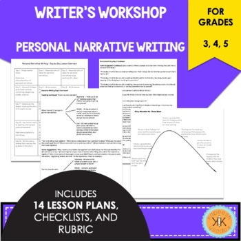 Writer's Workshop Personal Narrative Writing - Lucy Calkin