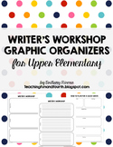 Writer's Workshop Planning Template {Graphic Organizers} L