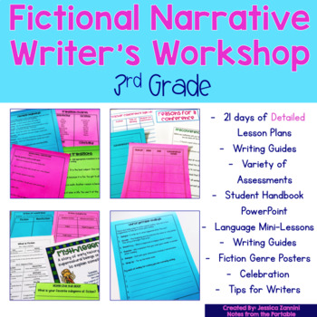 Writer's Workshop Series: Grade 3 Fiction