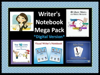 Writer's Notebook Mega Pack (Digital Version)