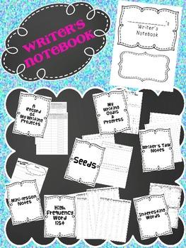 Writer's Notebook- Writer's Workshop