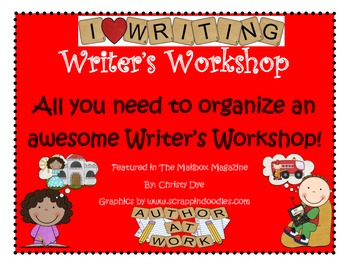 Writer's Workshop- An Organized System- Best Seller!