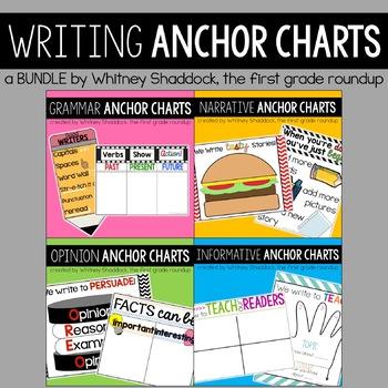 Writing Anchor Charts BUNDLE
