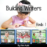 Writer's Workshop: Building Writers by Kim Adsit aligned w