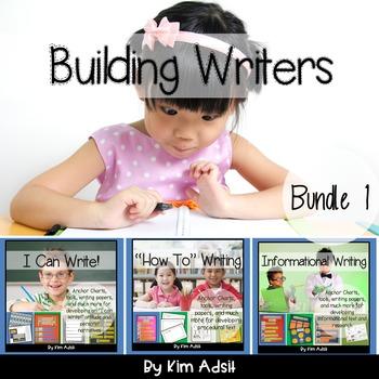 Writer's Workshop: Building Writers by Kim Adsit aligned w