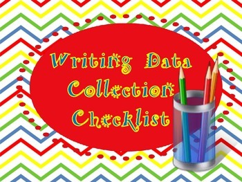 """Writer""""s Workshop Data Collection Tool...Monthly or Weekly"""