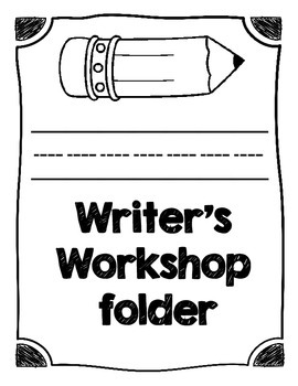 Writer's Workshop Folder Cover