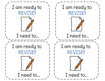 Writers' Workshop Revise Checklist
