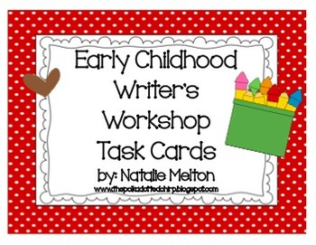 Writer's Workshop Task Cards