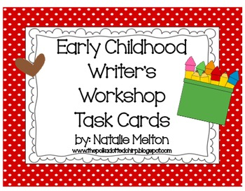 Writer's Workshop Task Cards- Formal Language