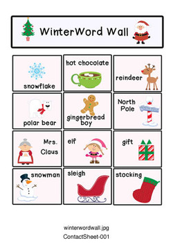 Writer's Workshop - Winter Words for Writers