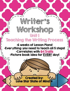 Writer's Workshop: Writer's Use the Writing Process