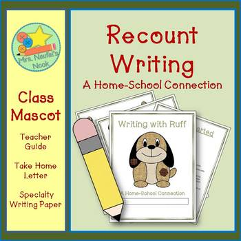 Class Mascot Writing Printables - Guide, Take Home Letter
