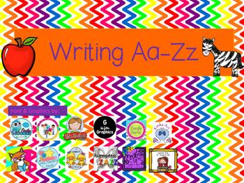Writing Aa-Zz (color)