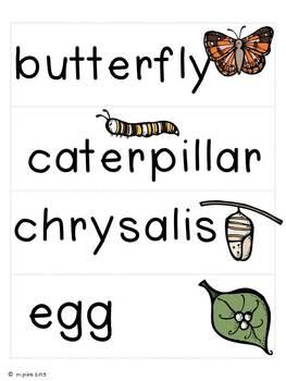 Writing About Butterflies {Mini Unit}