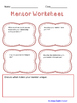 Writing About Your Mentor Activity and Worksheets