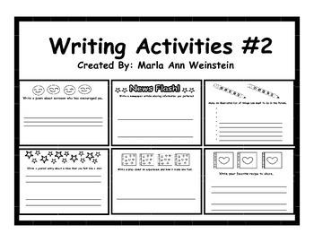 Writing Activities #2
