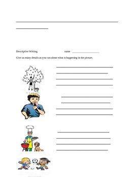 Writing Activities Grades 2-4
